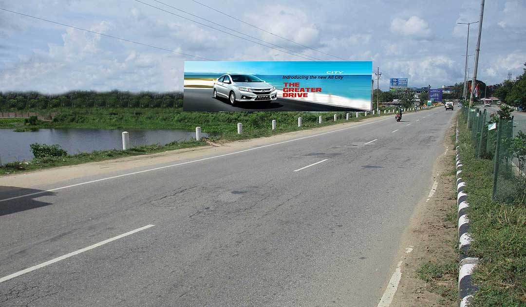 Hoarding at Guwahati Airpoart Road