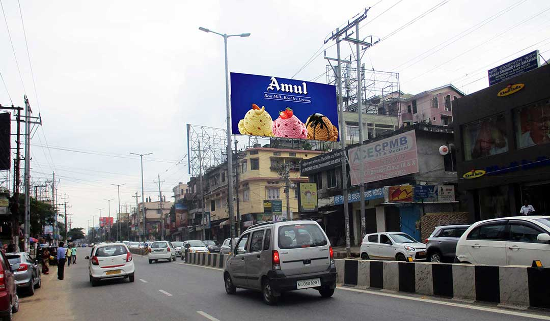 Hoarding at Guwahati Chandmari Colony