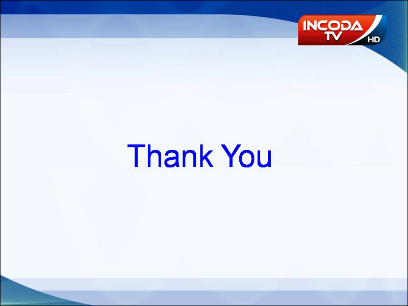 Thank You - Incoda