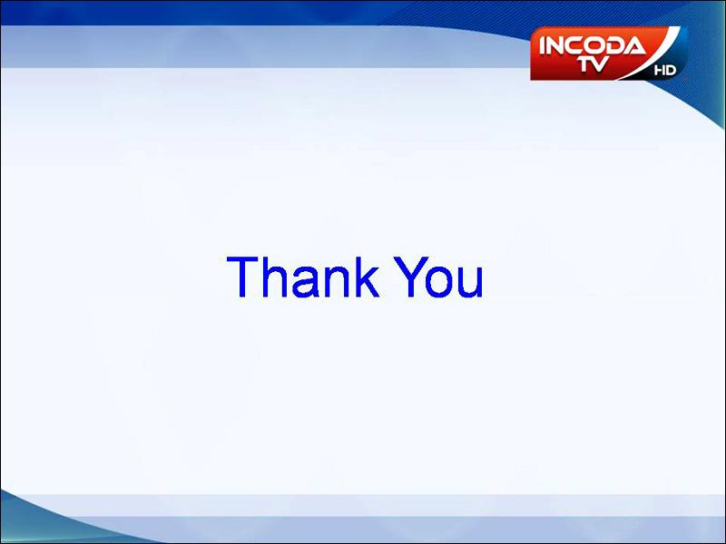 Thank You - Incoda